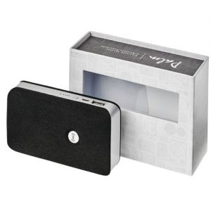 Altoparlante Palm Bluetooth® con power bank wireless